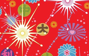 Asian Pop_2 - vector #170061 gratis