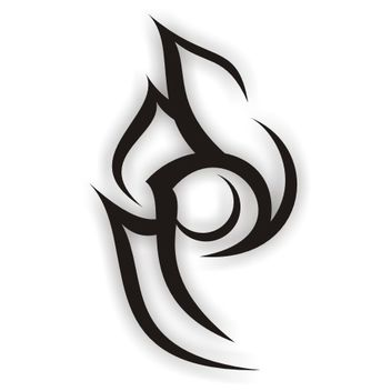 Abstract tattoo - Free vector #170881