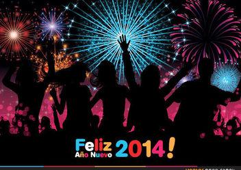 Festejo de Ano Nuevo - Free vector #170931