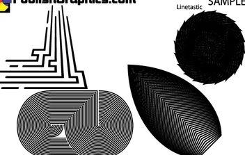 LINETASTIC SET - Free vector #171201