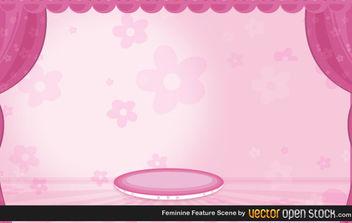 Feminine Feature Scenery - Free vector #172261
