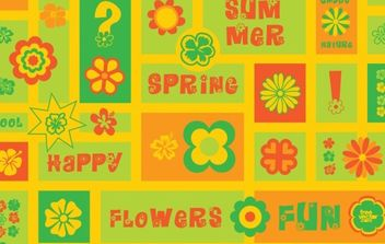Flowers Clip Art - Free vector #172311