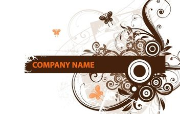 Floral Design Headers - vector #172361 gratis