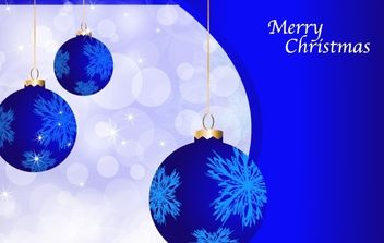 Blue Holidays Vector - Kostenloses vector #172461
