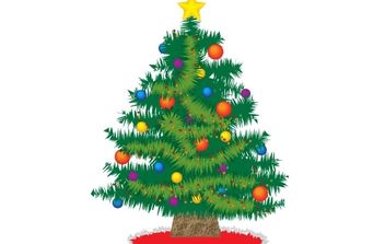 Oh Christmas Tree - Free vector #172521