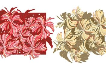 Whispy Flower Vector Wallpaper- Free - vector #172571 gratis