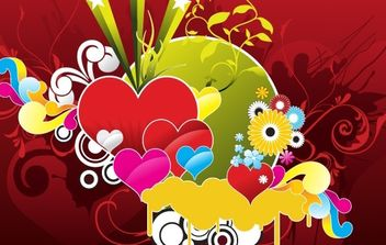 Love is in the Air - vector gratuit #172691
