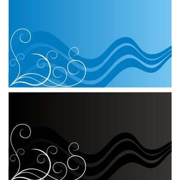 Beautiful card vector - Free vector #173361