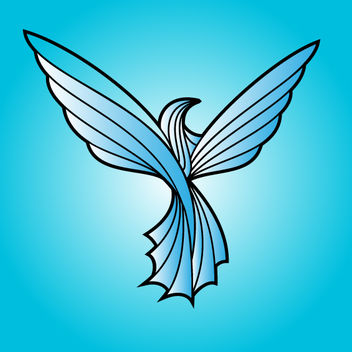 Line Art Dove Bird - Free vector #173611