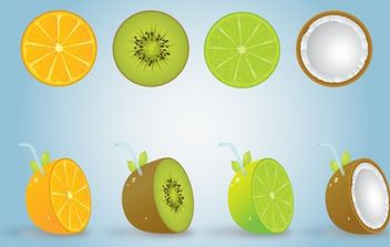 Fruits Vector - vector gratuit #174361