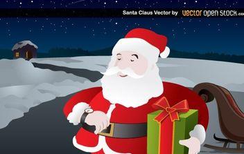 Santa Claus - vector gratuit #174681