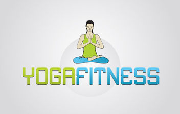 Yoga Fitness - Free vector #175441