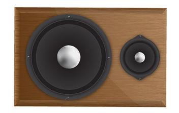 Speaker - vector #175551 gratis