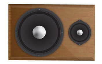 Speaker - Free vector #175551