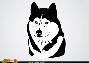 Husky Ciberian Dog - Free vector #175611