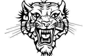 Tiger Head Vector - Kostenloses vector #175721