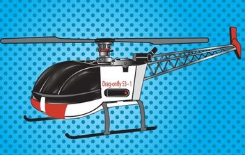 RC Helicopter - Free vector #175861