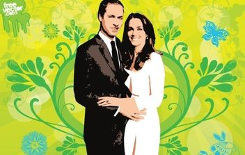 Royal Wedding - Free vector #175871