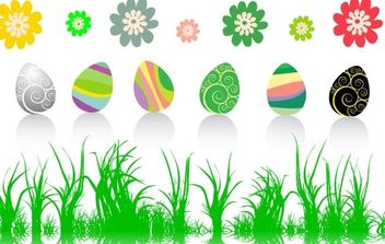 Easter Vector Collection - Free vector #175931