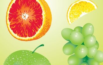 Fruit - Free vector #176241