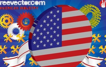 American Industry - Free vector #176291