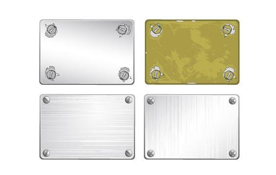 Screw metal texture vector material - Free vector #176461