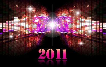 Futuristic Calendar 2011 01 - Free vector #176551