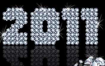 Vector Happy New Year 2011 - Kostenloses vector #176581