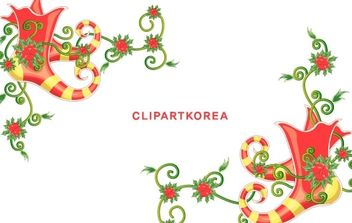 CHRISTMAS EXQUISITE LACE VECTOR MATERIAL-12 - Free vector #176621