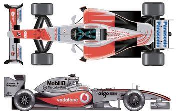 Formula 1 Cars - бесплатный vector #176781
