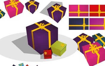 Gift Presents - vector gratuit #176881