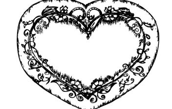 Sketchy Heart - Free vector #177171