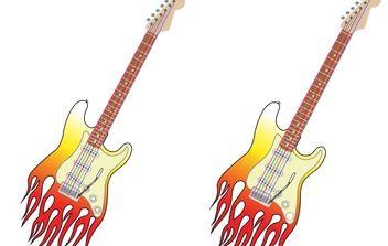 Vector Guitar - Kostenloses vector #178161
