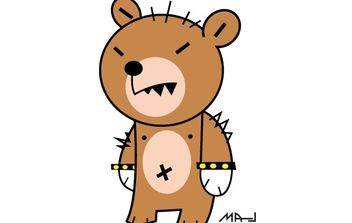 Bear - Kostenloses vector #178411