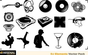 Free Dj & Graffiti vector artwork - бесплатный vector #178561