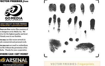 Fingerprints - Kostenloses vector #178811