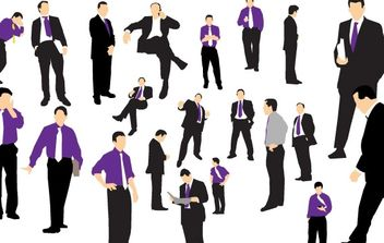 Business Man Vector - Free vector #178971
