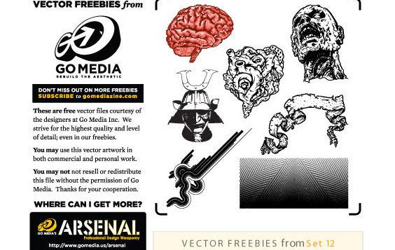 GoMedia Free Set 12 - Free vector #179071