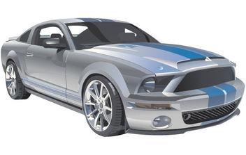 Vector Mustang - Free vector #179131