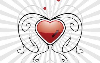 Heart - vector #179141 gratis