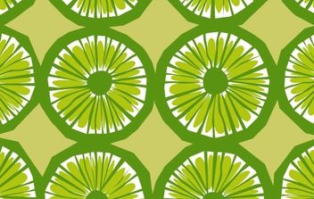 When Life Gives You Limes Pattern - vector gratuit #179701
