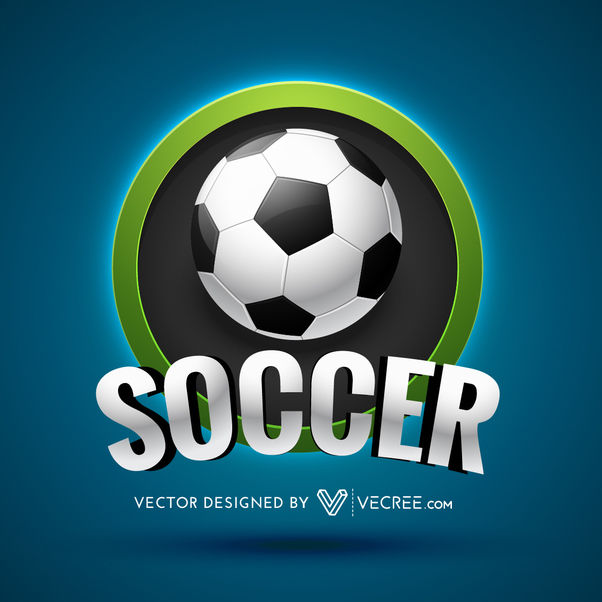 Soccer Sports Beautiful Logo Design - vector gratuit(e) #180431