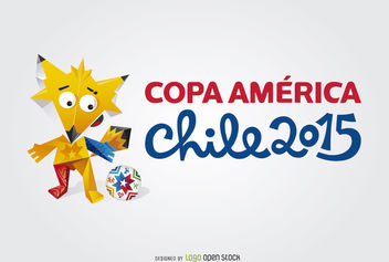 Mascot Copa America 2015 Logo - Free vector #181351