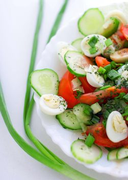 Light vegetable salad - image #182731 gratis