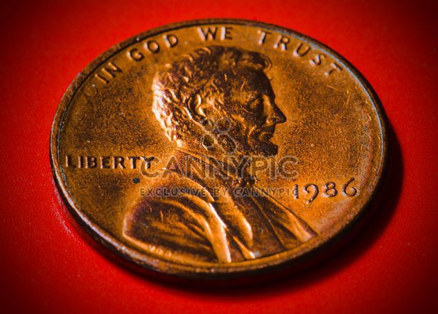 Uns ein-Cent-Münze - Free image #182851