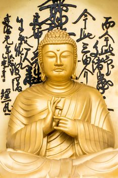 Golden Buddha statue - image #182911 gratis