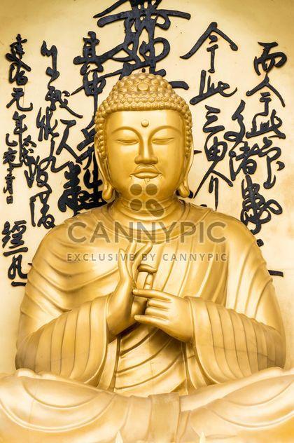 Statue de Bouddha doré - image gratuit(e) #182911
