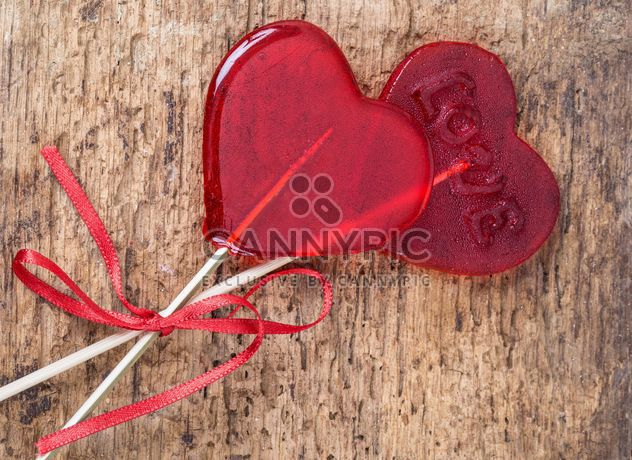 Heart shaped candies - Free image #182971