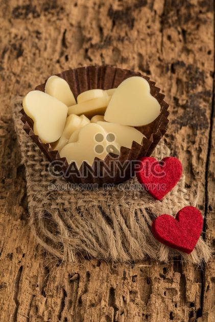 Heart shaped chocolates - Free image #183001
