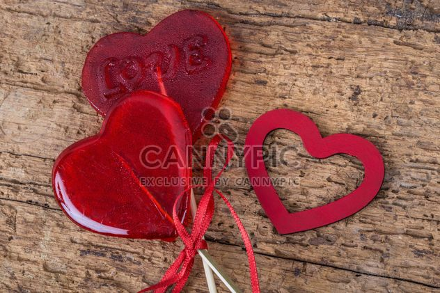 Heart shaped candies - Free image #183021